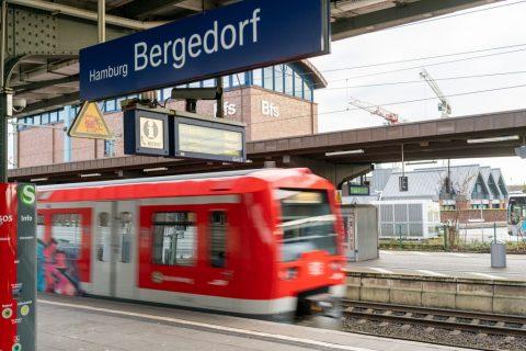 S-Bahn ATO Hamburg Bergedorf