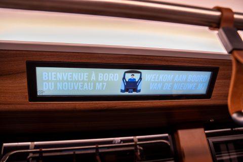 M7 heeft passagiers welkom in Brussel