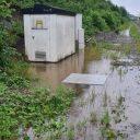 Wateroverlast in Wallonië