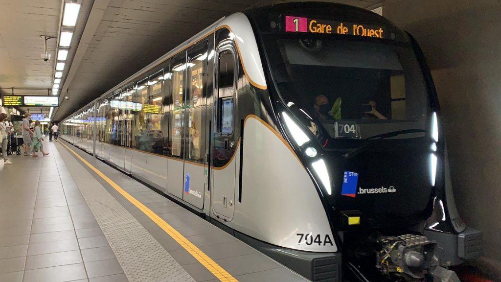 M7 in gebruik genomen in op Brusselse metronet
