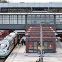 Passagierstreinen op een station in Duitsland, foto: Deutsche Bahn