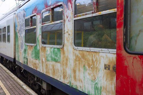 graffiti op trein