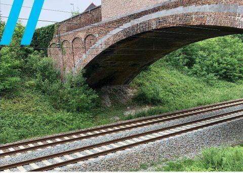 110-jarige spoorbrug in Erpe-Mere