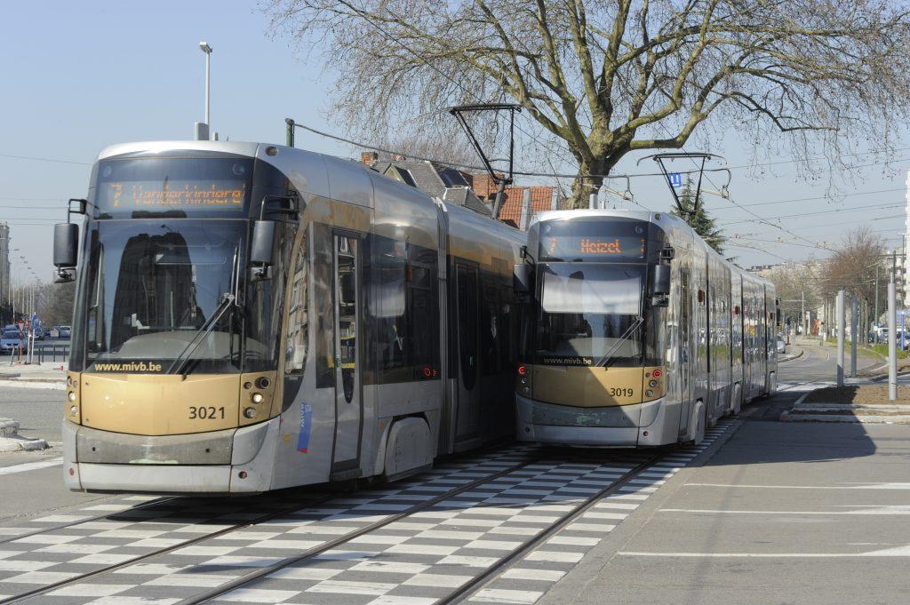 Tram in Brussel